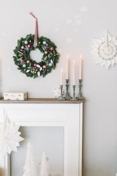 birthday ideas for him Christmas Mood, Winter Is Coming, Hanukkah, Table Settings, Christmas Decorations, Happy Birthday, Wreaths, Home Decor, Boho