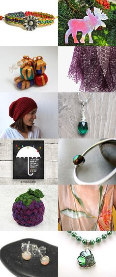 Holiday Finds Gift Guide by Donna Arena on Etsy--Pinned with TreasuryPin.com #etsy #handmade #shopping