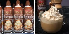 We have our eyes set on Gay Lea Food's Toasted Marshmallow Whipped Cream for all of our dessert needs. The marshmallow topping is basically part of a s'more in a can. Whipped Topping, Whipped Cream, New Recipes, Whole Food Recipes, Egg Toast, Make Ice Cream, Toasted Marshmallow, Everything Bagel, Graham Crackers