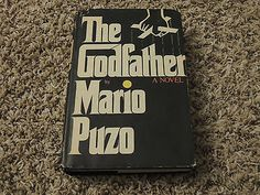 The Godfather by Mario Puzo Book Club Edition VINTAGE HARDCOVER