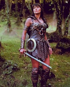 """Xena Warrior Princess. I still utter her warrior princess cry when I need a little """"umph"""" in my day!"""