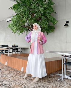Casual Hijab Outfit, Ootd Hijab, Hijab Chic, Old Fashion Dresses, Teen Fashion Outfits, Fasion, Modest Outfits, Skirt Outfits, Muslim Fashion