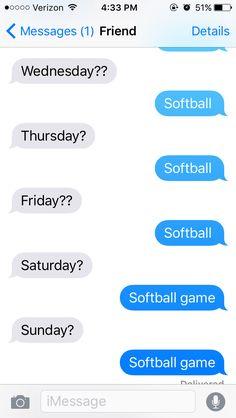 My softball life⚾️ ~Rachel walling