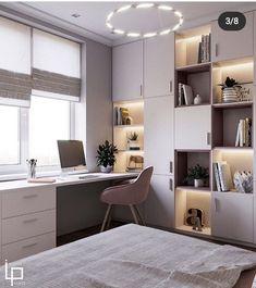 Kids Bedroom Designs, Room Design Bedroom, Room Ideas Bedroom, Home Room Design, Kids Room Design, Small Room Bedroom, Home Office Design, Home Bedroom, Home Interior Design