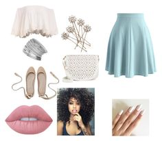 """""""Iris"""" by ohwhatshername on Polyvore featuring Chicwish, Miss Selfridge, Lime Crime and Under One Sky"""