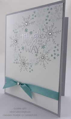 mingle all the way stampin up - Google Search