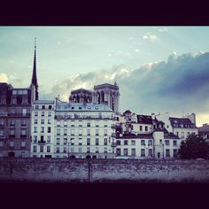 Madame? #paris #notredame #france #francia #ciel #cielo #sky #sena #seine #soir #clouds #nuages #nubes by ADPrietoPYC, via Flickr