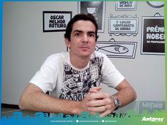 Nosso diretor de criação Talles Pontes.