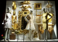 Bergdorf Goodman window display - seeing the windows at Bergdorf Goodman in NYC when I was in elementary school was the first time I fell in love with fashion and visual merchandising. They have the most detailed, intricate, and off the wall visuals! Love, love, love!!