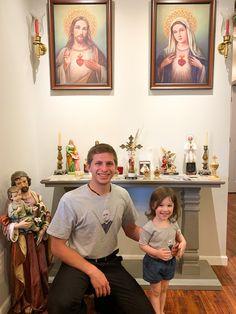 Breana🐫 (@_breezycamel) / Twitter Francis Xavier, Home Altar, Prayer Room, Beautiful Dream, St Joseph, Alters, Jesus Christ, Activities For Kids, Corner