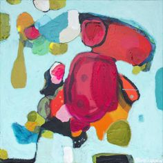 """Saatchi Online Artist: Claire Desjardins; Acrylic, 2013, Painting """"China Trip""""--kind of loving this one too."""