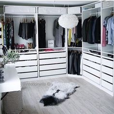 Dressing n'y @interiorwife -Dressing Pax Ikea -