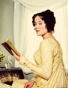 Elizabeth Bennet portrayed by Jennifer Ehle.
