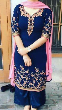 Punjabi Suits Designer Boutique, Boutique Suits, Indian Designer Outfits, Indian Suits Punjabi, Punjabi Suits Party Wear, Indian Fashion Trends, Punjabi Fashion, Sharara, Patiala