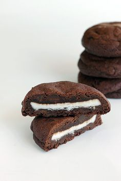 Double mint chocolate chip cookies