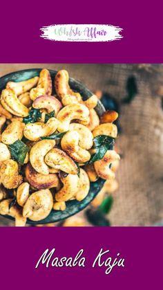 Cashew Recipes, Healthy Recipes, Chaat Recipe, Indian Dessert Recipes, Vegetarian Snacks, Appetizer Recipes, Food Videos, Namaste Restaurant, Cooking Recipes