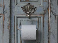 Držák na toaletní papír Chateau antique silver | Bella Rose