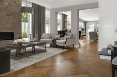 This stunning French Oak flooring looks fantastic in any colour from our range – including natural or polyurethaned Dark Furniture, Outdoor Furniture Sets, Outdoor Decor, Engineered Timber Flooring, Oak Flooring, Sawn Timber, Floor Colors, French Oak, Dining Table