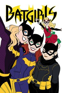 "m-sciuto: "" Batgirls of Burnside flats """