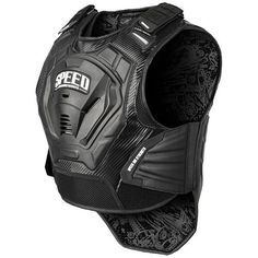 Speed and Strength Lunatic Fringe Mens Street Protection Armored Vests