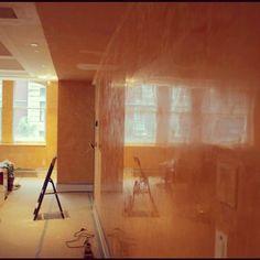 #interiordesign polished venetian plaster by #ivodesigns