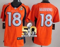 Nike Broncos  18 Peyton Manning Orange Team Color Women s Stitched NFL New  Elite Jersey And ff042e9d4