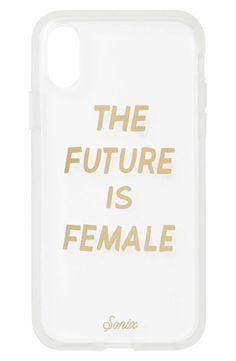 Main Image - Sonix The Future Is Female iPhone X Case