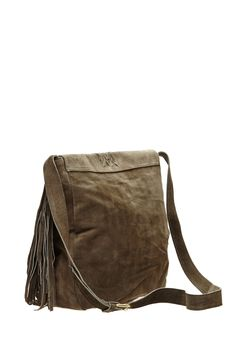RAJ Jessica Suede Fringe Messenger Bag by RAJ on @nordstrom_rack