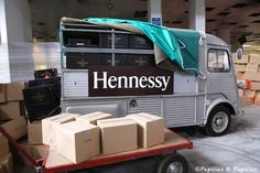 #JPLVMH #Hennessy #Cognac Photo Papilles & Pupilles Camionnette