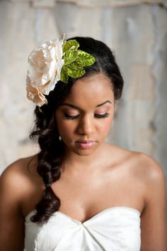 Pretty floral headpiece