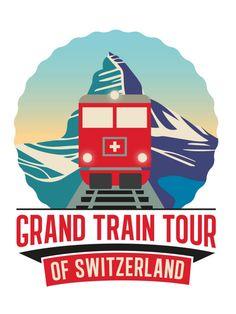 Die Grand Train Tour of Switzerland vereint die schönsten Panoramarouten zu…
