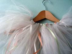 No-sew tutu tutorial. #MarthaStewartLiving