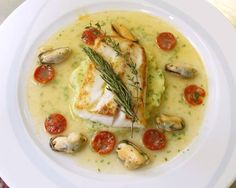 NYT Cooking: This recipe came to The Times in 2002 from the French chef Eric Ripert, whose cooking at Le Bernardin carries flavors reminiscent of his culinary training near the Spanish border. Quickly sautéed cod is placed on a bed of potatoes with a savory, supple broth ladled over. It takes not too much time, and it is delicious.