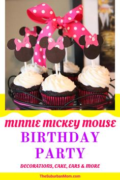 Parties are always so fun! Do you know what's even better? Yes, it's Disney-themed parties! Check out the blog for a guide on Minnie and Mickey Mouse Birthday party decorations! From food, cakes, to ears more, with this guide, I will make sure that party will be the happiest place on earth! Loved by both adults and kids alike, these easy and simple homemade party decorations are a must! Disney-themed food, Disney-filled party bags, what can get more magical than that? #DIYpartydecorations