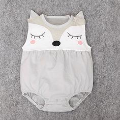 Newborn Fox Toddler Infant Baby Girl Romper Jumpsuit/Bodysuit