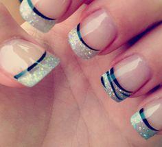 Elegant And Stylish Nails Art 2014 Fancy Nails, Love Nails, Pretty Nails, My Nails, Cute Nail Art Designs, Beautiful Nail Designs, Zebra Nail Designs, Shellac Nails, Nail Polish