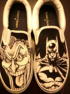 Hand drawn, one of a kind shoes. If you want a pair of your own custom shoes, send me a message with your shoe size and what you want on them! Prices: $49.99 plus shipping.