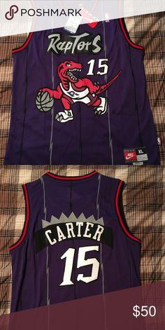 Raptors Vince Carter hardwood classic Jersey. Vince Carter Toronto Raptors  hardwood classic jersey. In great condition.  nba  nbajersey  torontoraptors  ... a2dec8bce