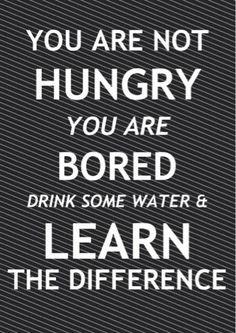 Eat only when you are hungry!!!  #diet #health #food