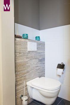 Toilet in de pure woonstijl. Bekijk meer badkamer ideeën: http://www.vanwanrooij-warenhuys.nl/badkamers/badkamer-ideeen/