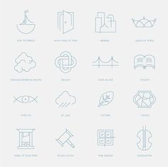 How big, how blue, how beautiful iconography by Guilherme Lopes. Based on Florence and the Machine's lyrics.
