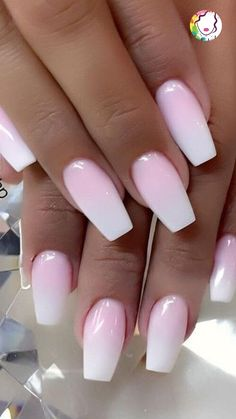 Cute and beauty ombre nail design ideas for this year 2020 - Trend Spring Nails Coffin 2019 Ombre Nail Designs, Nail Designs Spring, Acrylic Nail Designs, Nail Art Designs, Stylish Nails, Trendy Nails, Cute Nails, My Nails, Long Nails
