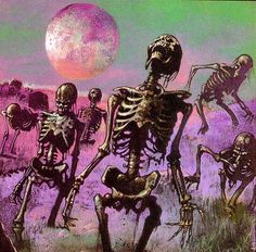 """Dedicated to all things """"geek retro:"""" the science fiction/fantasy/horror fandom of the past including pin up art, novel covers, pulp magazines, and comics. Art Inspo, Kunst Inspo, Retro Horror, Vintage Horror, Comic Kunst, Comic Art, Art And Illustration, Halloween Illustration, Arte Horror"""