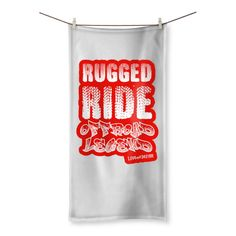 Love and Design Rugged Ride Off-Road Legend Beach Towel