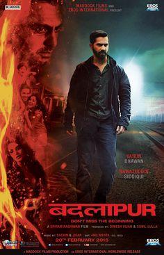 Watch Badlapur FULL MOVIE Sub English Imdb Movies, 2015 Movies, Top Movies, Latest Movies, Movies Free, Yami Gautam Movies, Bollywood Posters, Movies To Watch Online, Full Movies Download