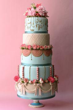 Marie Antoinette Rococo Cake