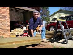 How To Build a Residential Wheel Chair Ramp.