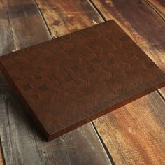 Large Walnut End Grain Cutting Board Butcher Block, Manly Cutting Board, Big Walnut Carving Board