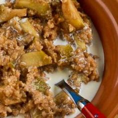CrockPot Recipe for Make-Ahead Apple Pie Oatmeal