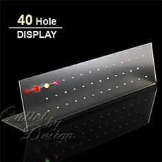 Acrylic Stand Display with 40 Holes